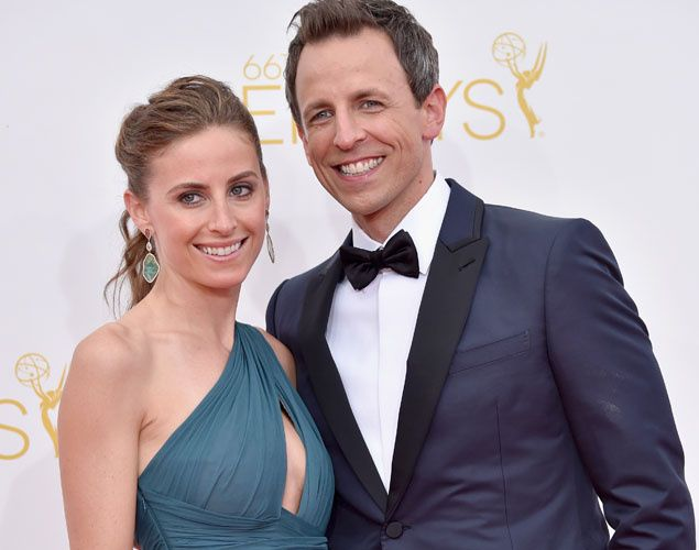 seth Meyers & Alexi Ashe, human rights lawyer and assistant District Attorney Brooklyn