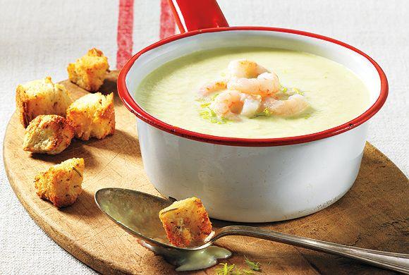 Creamy Leek and Fennel Soup recipe