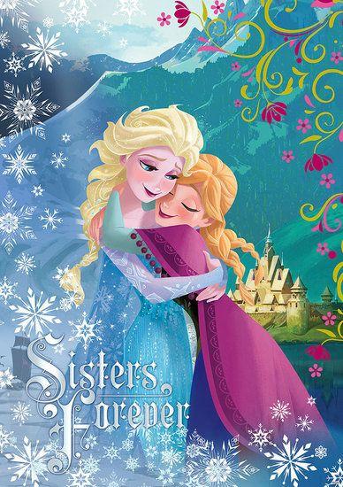 Droom weg in je eigen kamer en beleef het magische Frozen sprookje van sneeuwkoningin Elsa en prinses Anna.