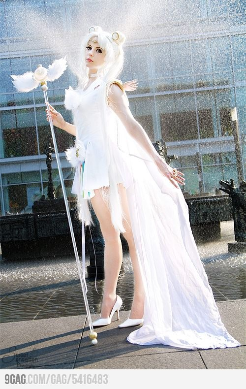 Sailor Cosmos cosplay from Sailor Moon