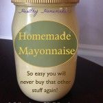 Homemade Natural Mayo