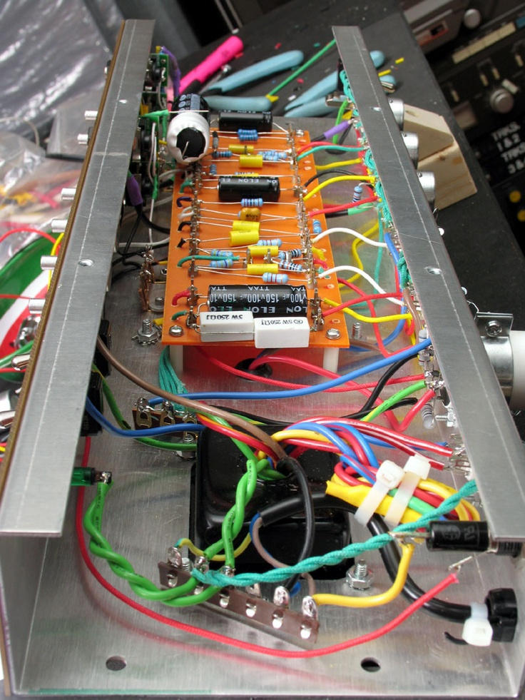 865fc97899badd80bc9d64e8212f2f20 electrical projects diy electronics 12 best build a guitar tube amp images on pinterest cigar box  at gsmportal.co