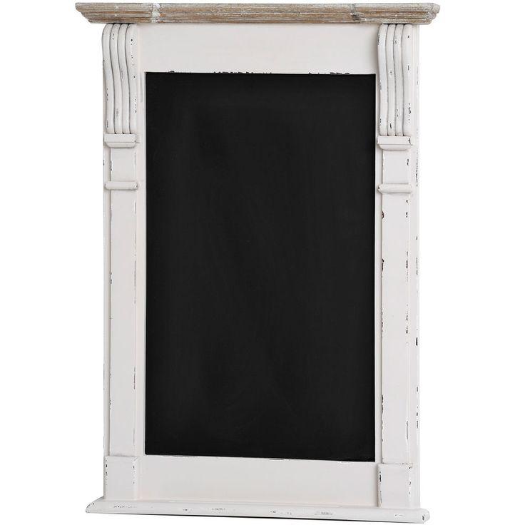 shabby chic white Blackboard message/memo RESTAURANT BAR kitchen