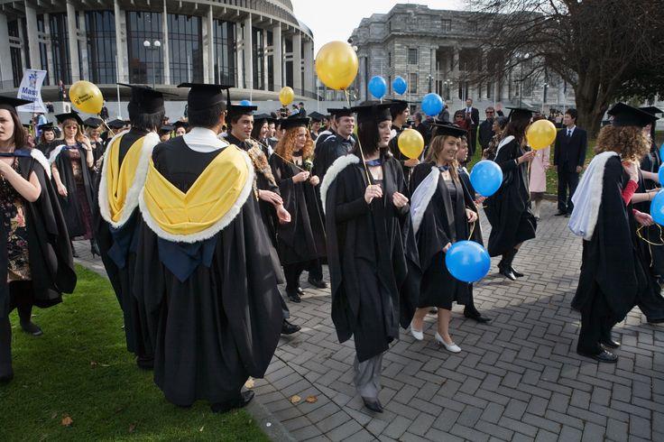 Massey University graduation march.