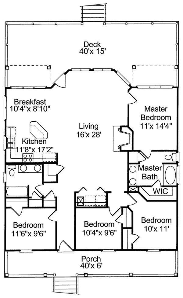 Beach House Floor Plans 4 bedroom beach house plans photo 3 Collier Cove Beach Cottage Home Beach House Floor Planscabin