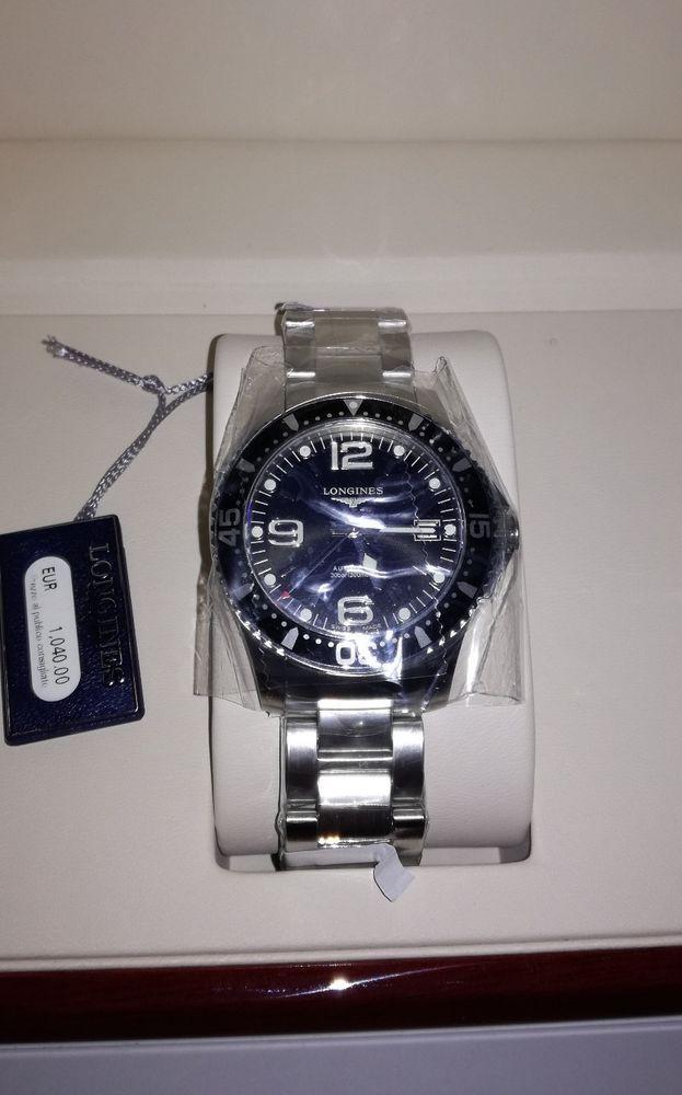 Orologio Longines Hydroconquest Automatico Nuovo scatola e garanzia ... 6d8452e25189