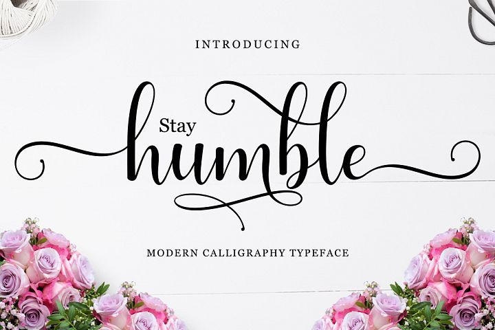 Humble Script from FontBundles.net