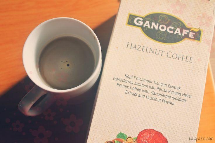 Gano Excel mogyorós ganoderma kávé