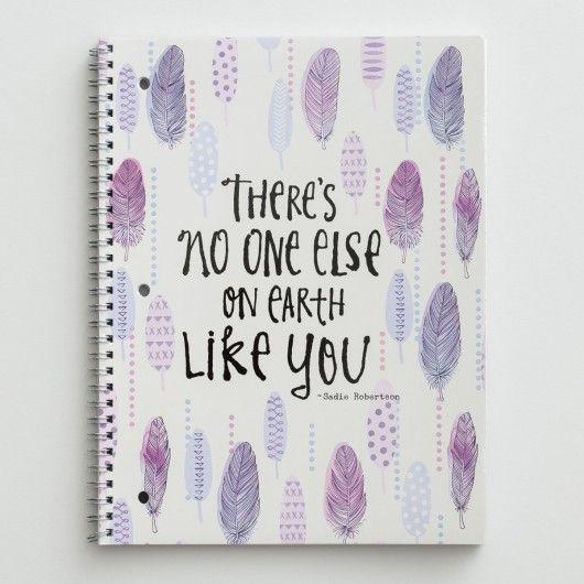 Sadie Robertson - No One Like You - Spiral Notebook