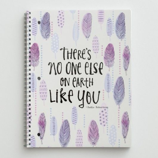 Sadie Robertson - No One Like You - Spiral Notebook