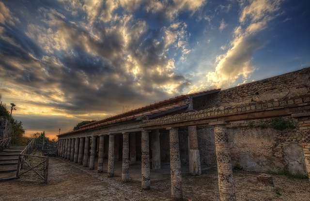 "The gorgeous ""Villa of Mysteries"" in Pompeii, Italy  A must visit - Pompeii - visit by train from Sorrento or Naples"