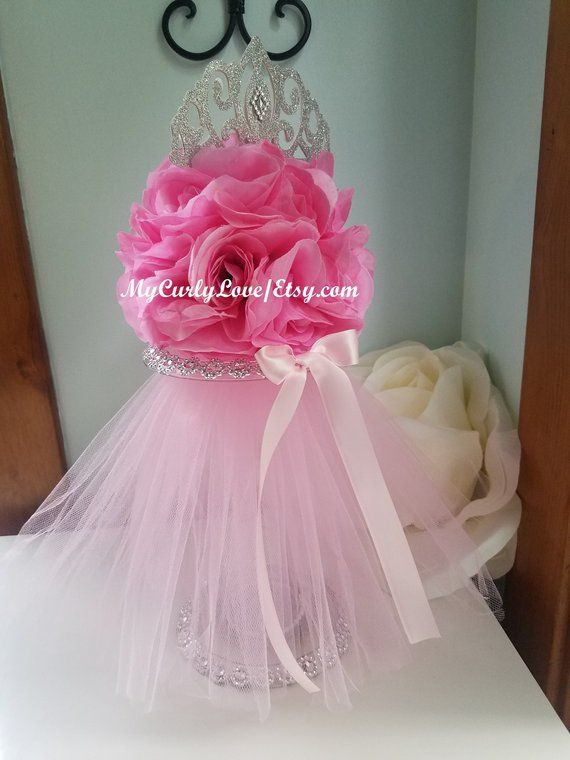 Princess Baby Shower Centerpiece Kissing Ball Princess Centerpiece