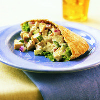 Indian Chicken Salad Pockets | Official Site for Celebrity Chef Devin Alexander
