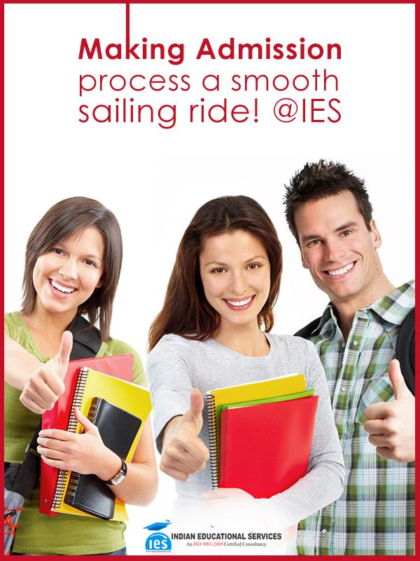 Making Admission process a smooth sailing ride! @IES