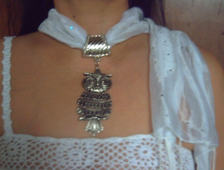 My own design of Scarf Necklace