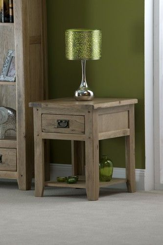cabos, lamp table, oak