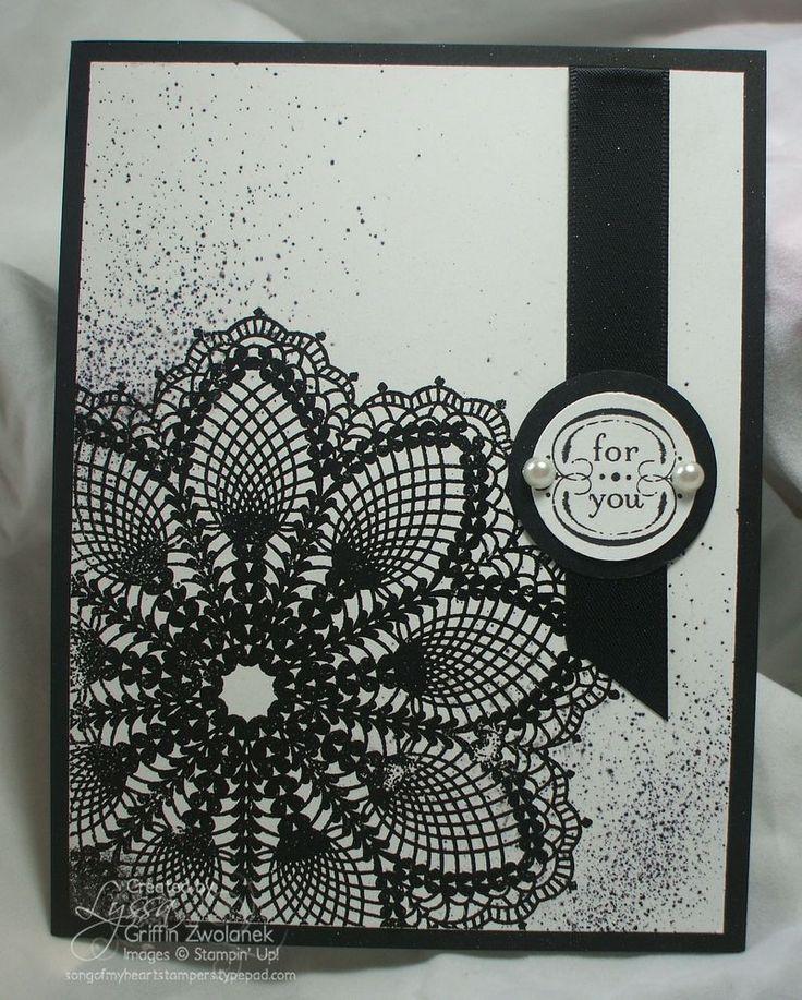 Черно-белые открытки скрапбукинг