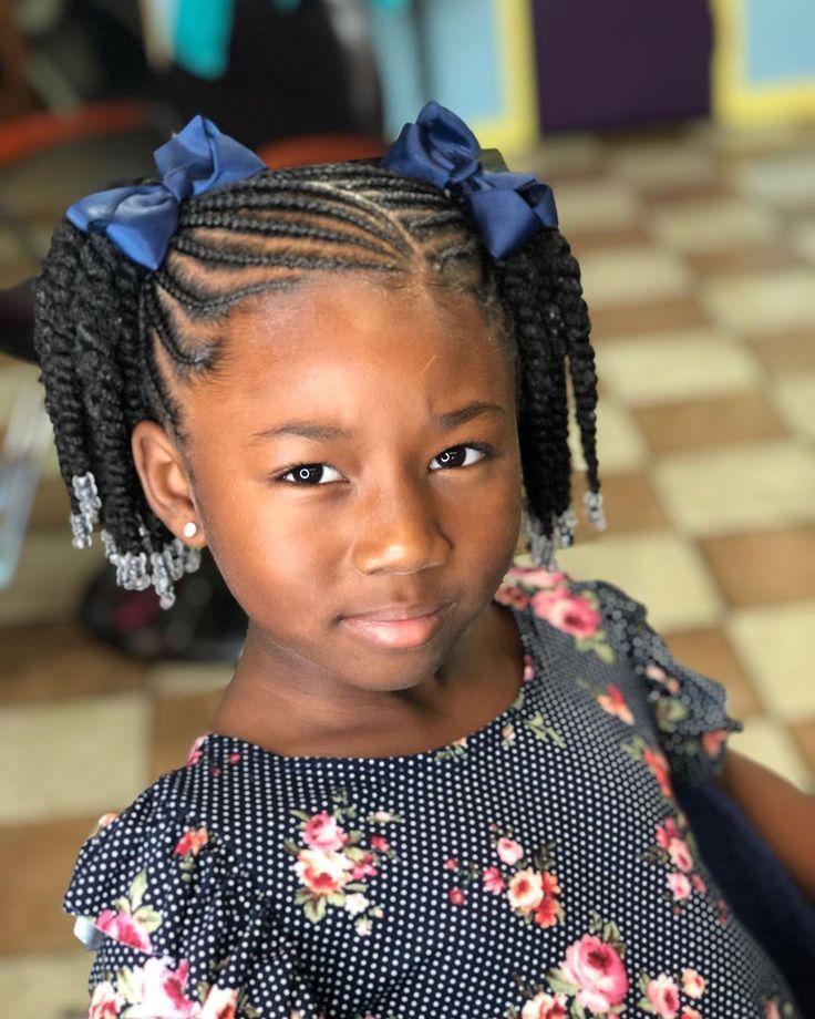 2019 back to school hairstyles 3#braids #braidstyles #feedinbraids #neatbraids #...