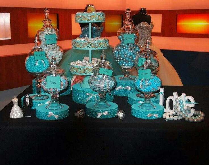Elegant Candy Buffet Candy Bar Buffet Pinterest