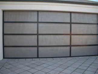 Perfalite 18 - 18% perforated sheeting used with a custom designed aluminium frame.