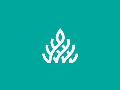 Plant #logo #design #inspiration