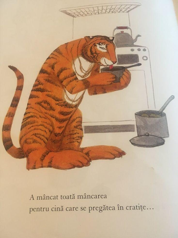 tigrul care a venit la ceai cartea