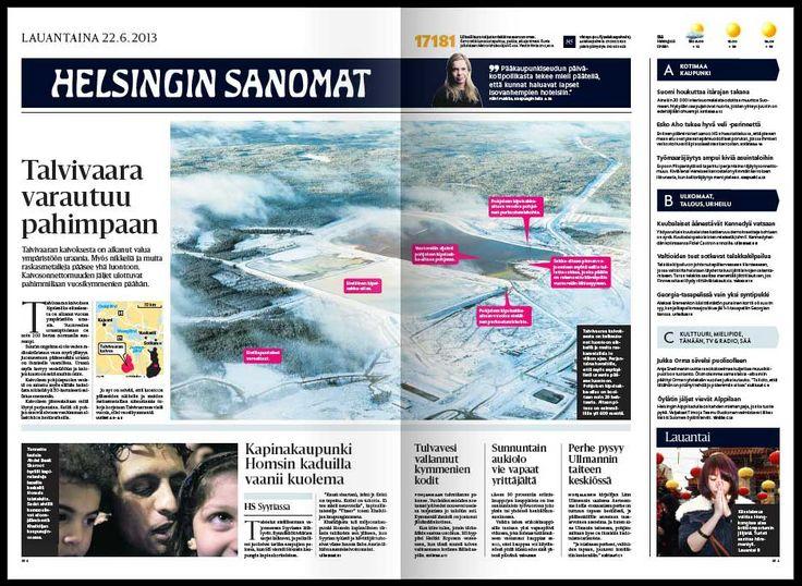 Helsingin Sanomien tabloid-uudistuksen taustakummitukset.