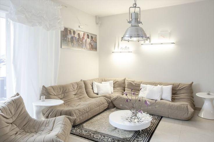 Klimatyczny salon we Wrocławiu/ climatic living room, modern