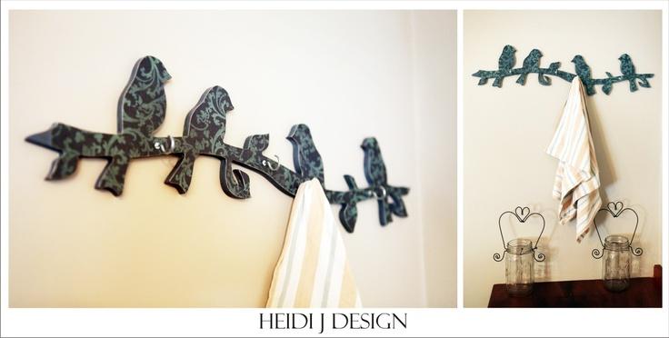 birds with hooks