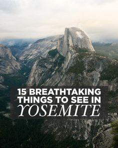 15 Breathtaking Things to Do in Yosemite National Park California USA // localadventurer.com