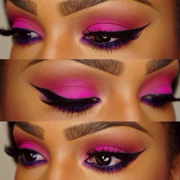 Gorgeous Makeup Brows Filled With Dipbrow Pomade In Dark