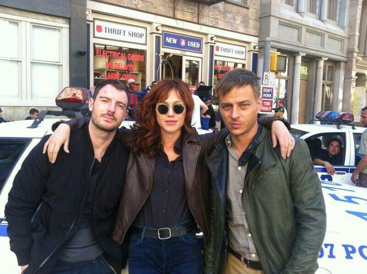 Richard Flood, Gabriella Pession and Tom Wlaschiha.
