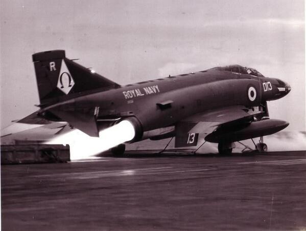F-4K off Ark Royal