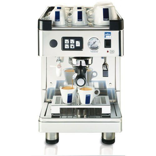 Lavazza LB2810 One-Group Espresso Machine by Lavazza. $2755.00. Lavazza has been a leader in the coffee industry for over 100 years. And now you can have the same quality and flavor that larger espresso machines provide in a sleek, compact model. The One-Group Espresso Machine (LB2810) from Lavazza is the perfect machine for smaller food service applications. This espresso machine can prepare a variety of espresso beverages and features a hot water dispenser for te...