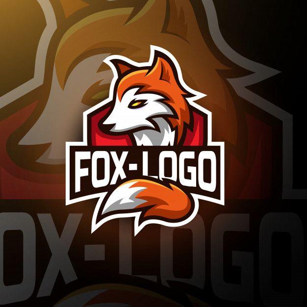 Cute Fox Gaming Logo Esport Logo Design Inspiration Graphics Fox Logo Cute Fox