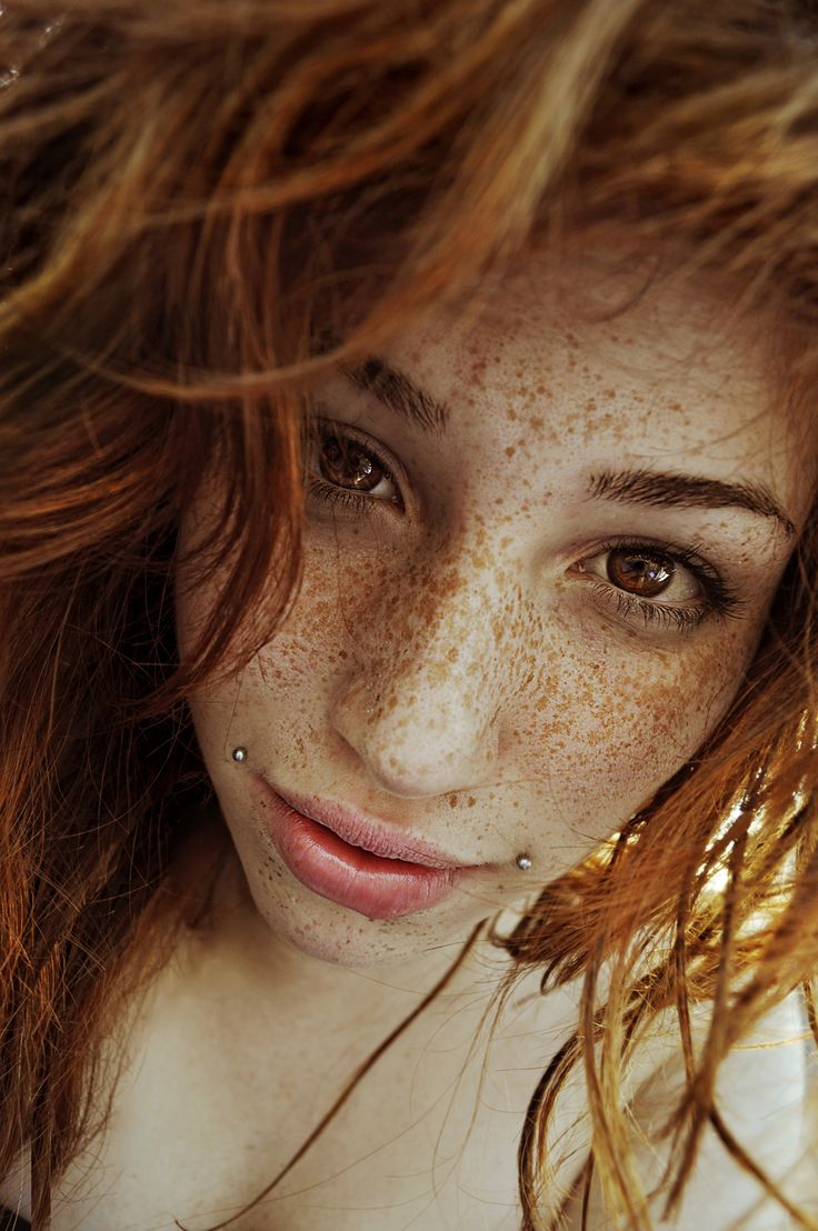 Piercings #photography #redhead #freckles
