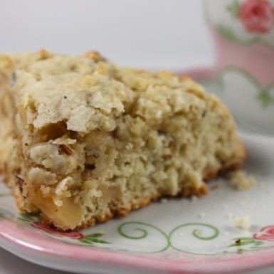 High Tea Recipes: These Rose-Walnut Scones are just one of the many afternoon tea recipes you can prepare for your tea party.