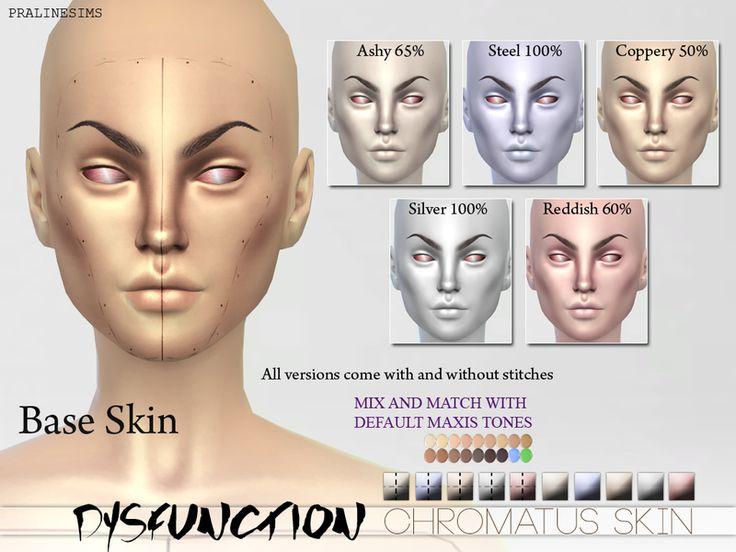 Robotic facial skin