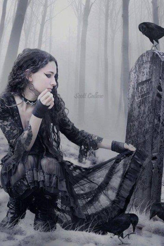 Beautiful goth                                                       …