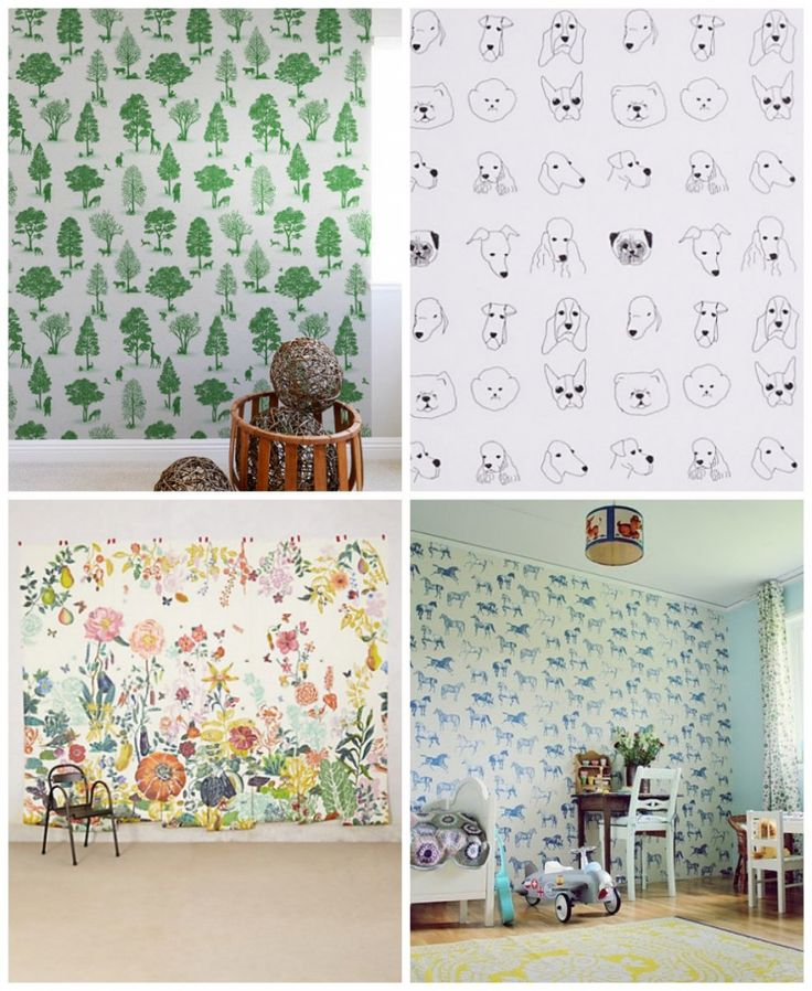 home family  21 Wallpapers for Kids rooms