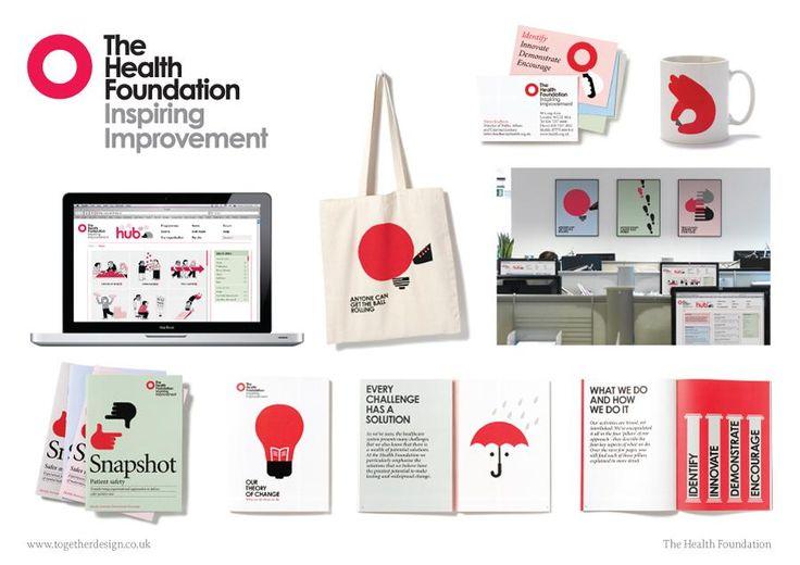 The Health Foundation visual identity