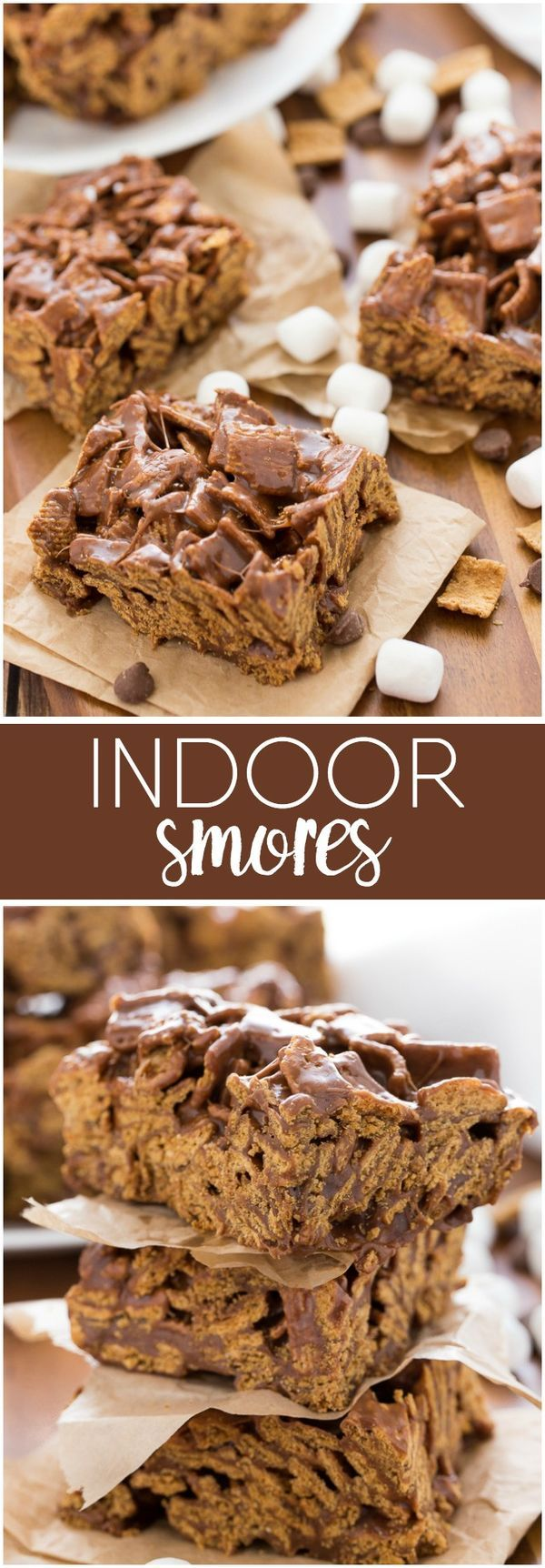 Indoor S'mores - This easy, no-bake dessert has all the flavours of a classic s'mores, but can be made in the cool, comfort of home. No campfire needed!