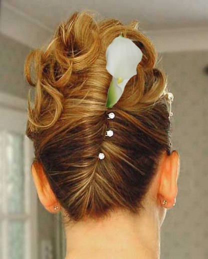 Maid Of Honor Hairstyle