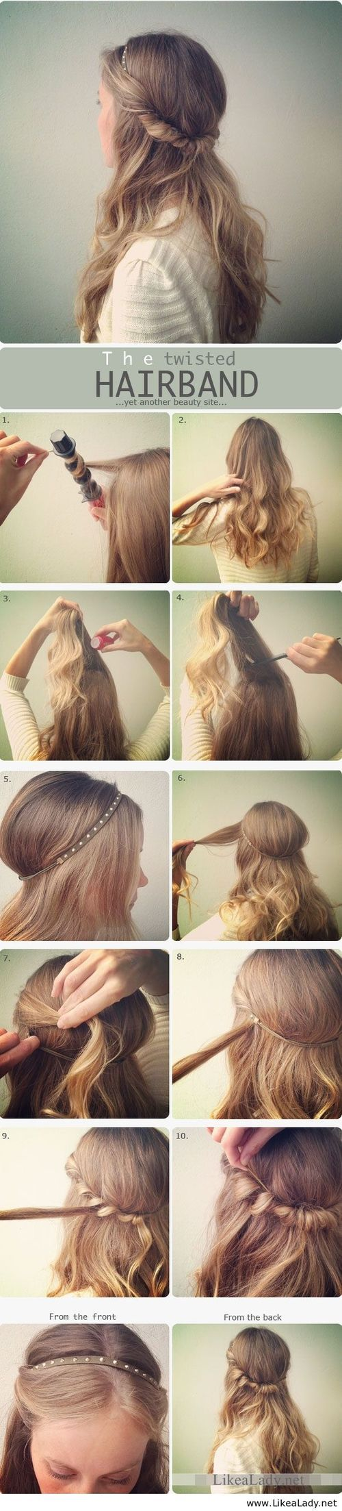 The twisted hairband [ OilsNetwork.com ] #beauty #health #wealth