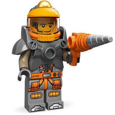 LEGO Minifigures Series 12 (6) Space Miner - Nhà thám hiểm vũ trụ