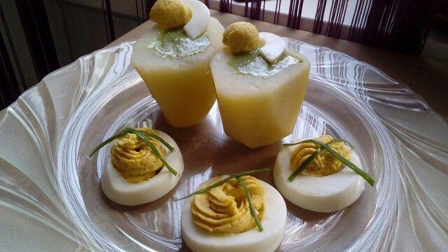 Spenót főtt tojással, krumplival...