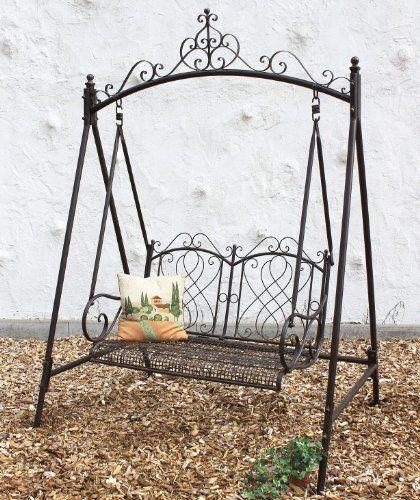 17 migliori idee su altalena da giardino su pinterest for Panchina ferro battuto amazon