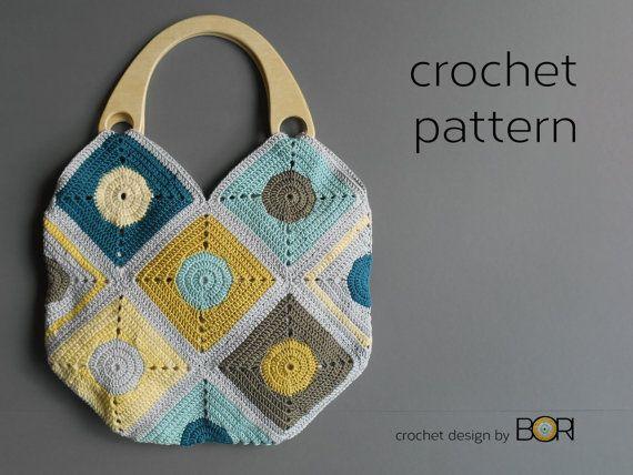 handmade crochet bag pattern