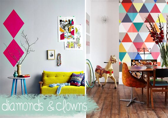 Geometrics are strong and bold this year - don't be shy with them!  http://homeology.co.za/trends/trend-5-geos/