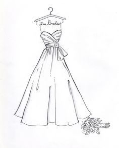 Quinceanera Dresses Coloring Pages. Fashion Sketches Coloring Pages  Bing images 10 best Dress drawings on Pinterest